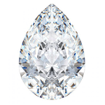 best prices for Pear Shape gia certified loose diamonds