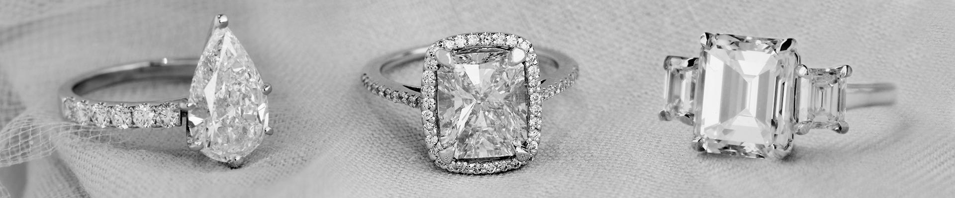 Halo Pear ShapeDiamond Ring