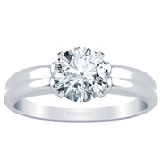 Double Solitaire Engagement Ring
