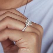 Petite Princess Diamond Engagement Ring