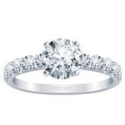 Large Diamond Engagement Ring