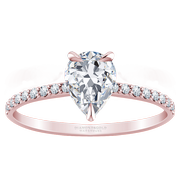 2/5ctw 14k Pear Diamond Engagement Ring