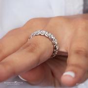 3.63ctw Lab Diamond Wedding Band