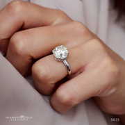 4.52ct Brilliant Round Diamond Solitaire Engagement Ring