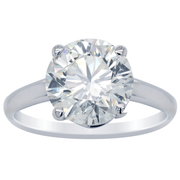 4.52ct Brilliant Round Diamond Solitaire Engagement Ring