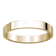 Ladies 14k Classic Flat Band Wedding Ring