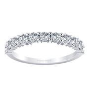 Round Diamond Anniversary Band - 1/2crt