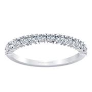 Round Diamond Anniversary Band- 3/8 crt