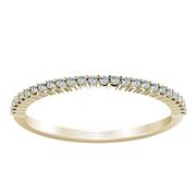 Round Diamond Anniversary Band - 1/8 crt