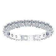 1 2/5ctw Round Diamond Eternity Ring