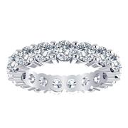 Round Diamond Eternity Band - 3.75crt