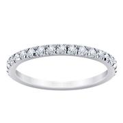French Pavé Diamond Eternity Band 0.60CRT