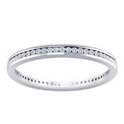 1/10ctw Channel Set Diamond Ring