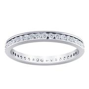 5/8ctw Channel Set Diamond Ring