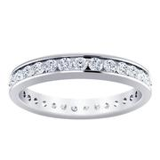 1ctw Channel Set Diamond Ring