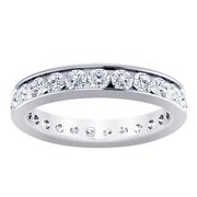 1 1/2ctw Channel Set Diamond Ring