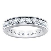 2 1/5ctw Channel Set Diamond Ring