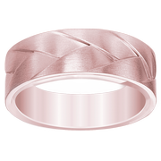 Men's Woven Satin Wedding Band