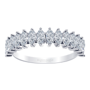1.00cttw Marquise Diamond Anniversary Ring