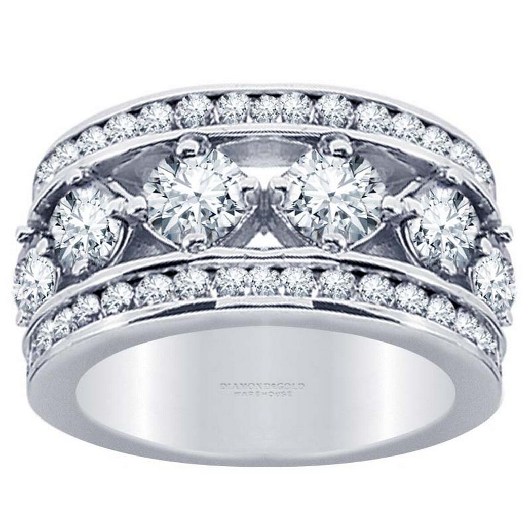 2.65ctw Round Diamond Fashion Band