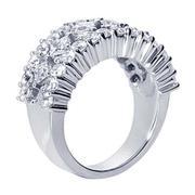 2.44ctw Princess and Round Diamond Fashion Ring
