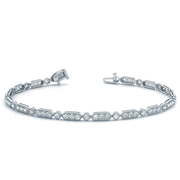 14k Milgrain Stackable Bracelet