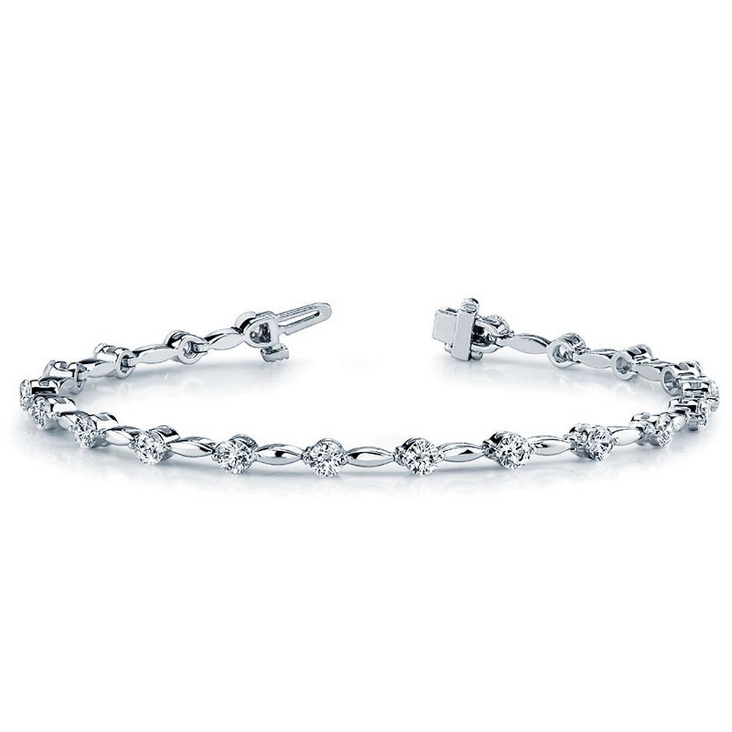 1ctw Fashion Diamond Tennis Bracelet
