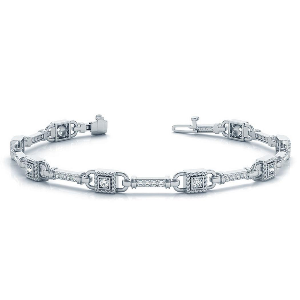 1/2ctw Fashion Diamond Tennis Bracelet