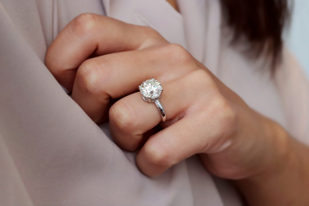 What to Consider in Getting a Wholesale 4 carat Round Engagement Ring in Dallas